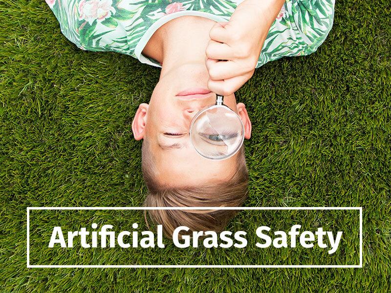 artificial grass safety