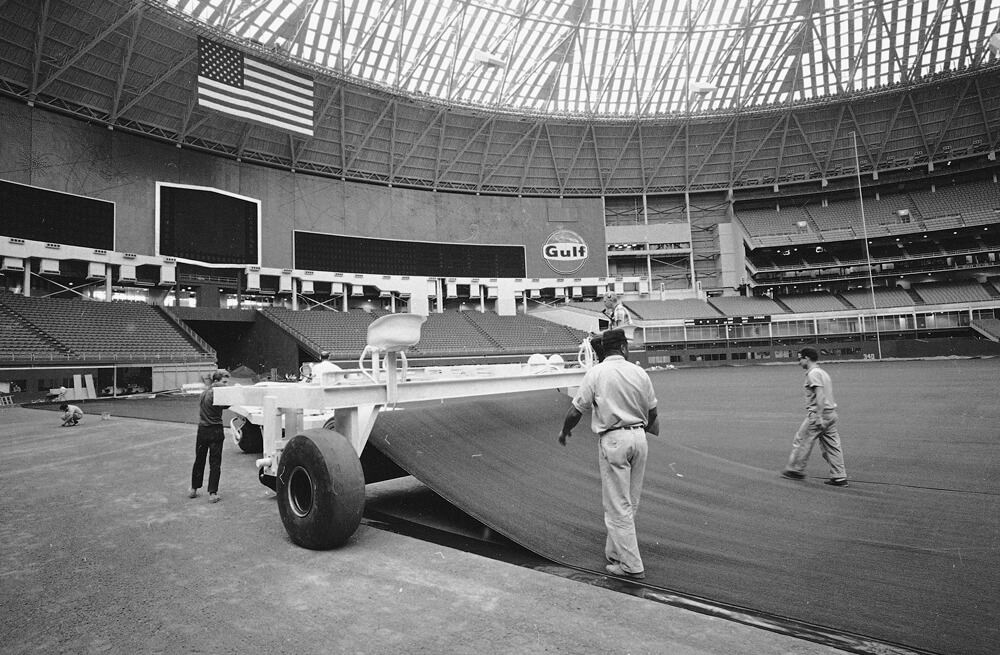 Astroturf at Astrodome