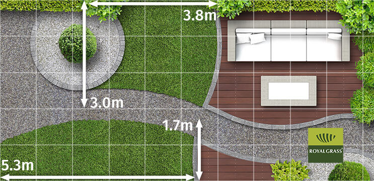 how to measure artificial grass