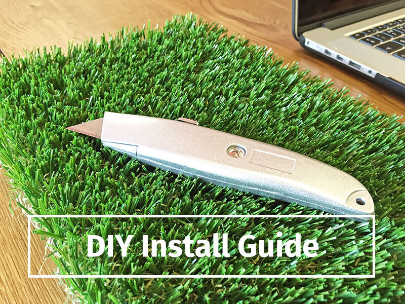 diy artificial grass installation guide