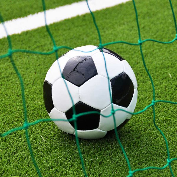 artificial grass with mini football